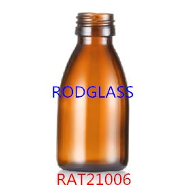 100ml棕色口服液瓶