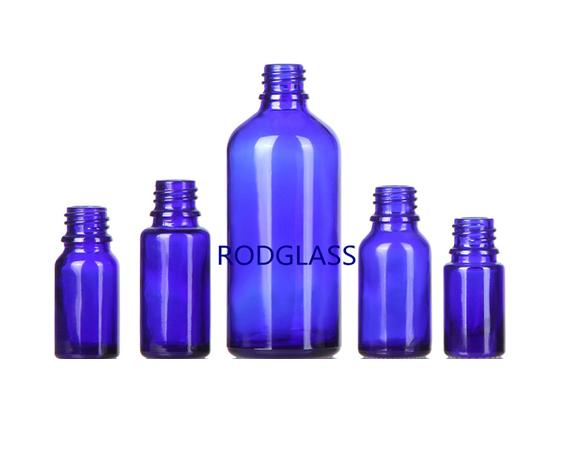 蓝料精油瓶